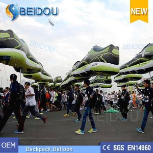 Advertising Balloons Moving Walking LED Lighting Decoration Inflatable Backpack Balloon pictures & photos