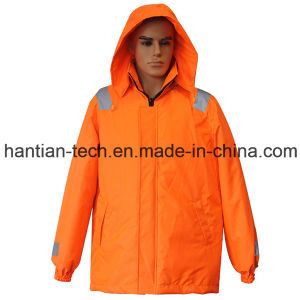 Buoyancy Winter Jackets with Reflective Tape (HTFZ004) pictures & photos