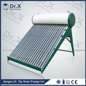 Energy Saving Pressurized Copper Coil Pre-Heating Solar Water Heater pictures & photos