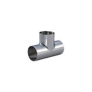 Sanitary Pipe (Tube) Fittings Series Stainless Steel Welded Tee pictures & photos