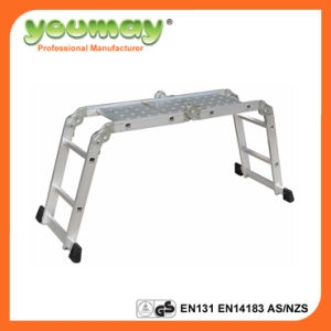En131 Approved Aluminium Ladder Am0108A