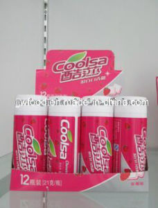 Super Mint Double Flavors Relax Sugar Free Chewing Gum pictures & photos