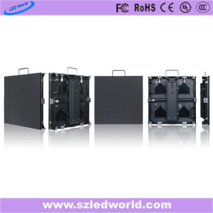 Manufacturing P3.91, P4.81, P5.95, P6.25 Video Wall Board Outdoor/Indoor HD Rental LED Sign Display Screen Made in China with 500X500mm Die-Casting Cabinet pictures & photos