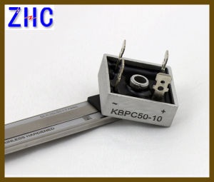 Kbpc Series 25A Single Phase Rectifier Bridge pictures & photos