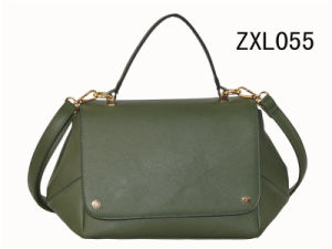 Design Factory OEM Lady PU Leather Tote Bag Woman Fashion Handbag (ZXL055) pictures & photos
