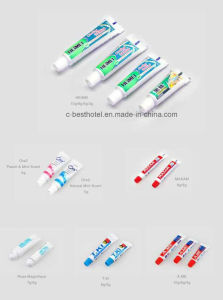 Best Selling Bright White Hotel Cheap Mini Toothpaste pictures & photos