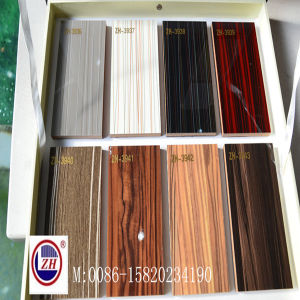 9mm Wooden Board UV MDF Sheet for Wardrobe Sliding Door pictures & photos