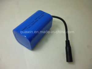 2s2p 18650 5200mAh 7.4V Battery Pack with 8.4V 1A Lithium Battery Charger pictures & photos