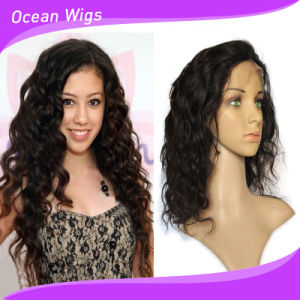 100 Human Hair Body Wave Front Lace Wig pictures & photos