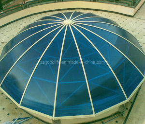 Thermal Insulation 10mm Polycarbonate Hollow Sheet for Roof Light pictures & photos