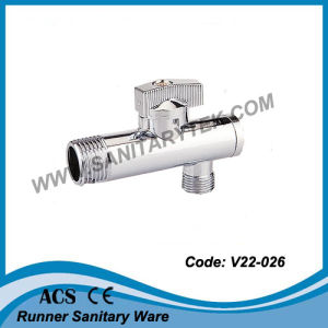 Angle Ball Valve with Filter (V22-026) pictures & photos