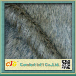 High Quality Colorful Wholesale Faux Fur Fabric pictures & photos