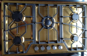 Five Burner Built-in Stove (SZ-JH5215) pictures & photos