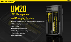 Nitecore Um20 LCD Display Charger USB Management pictures & photos