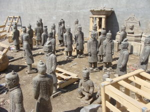 Imitation Antique Marble Army Ruffian (SH373AB) pictures & photos
