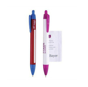 Auto-Retracting OEM Promotional Banner Ballpoint Pens pictures & photos