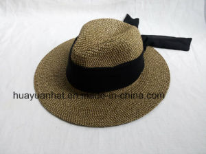 90% Paper 10%Polyester Safari Hats with Bowknot