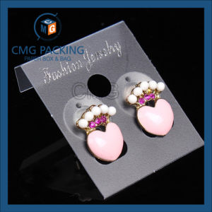 Transparent Earring Display Card Factory pictures & photos