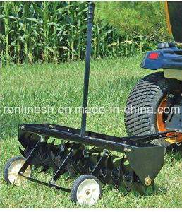 "Lawn Use ATV/Quad/UTV/Small Tractor Towable 40"" Curved Blade Aerator/40 in. Curved Spike Aerator CE pictures & photos"