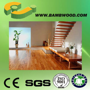 Eco Friendly Letter Printed Laminate Flooring pictures & photos