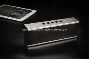 Aluminium Bluetooth Mini Wireless Speaker with Handsfree TF Card, FM Function