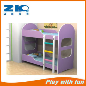 Colorful Bunk Fireproof New Wooden Children Beds, Kids Bedroom Furniture pictures & photos