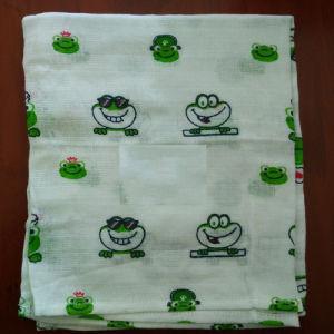Printed 100% Cotton Baby Reusable Gauze Diaper pictures & photos