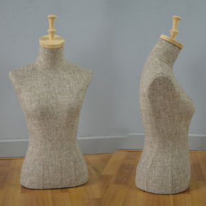 Fabric Wrapped Female Torso Mannequin pictures & photos