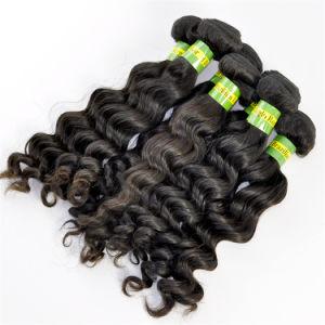 Top Grade 5A Brazilian Virgin Hair Extensions Deep Wave pictures & photos