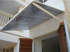 Polycarbonate Waterproof Awning Material Rain Shelter pictures & photos