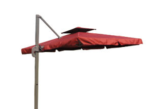 Double Canopy Garden Umbrella, Windproof (BR-GU-59) pictures & photos