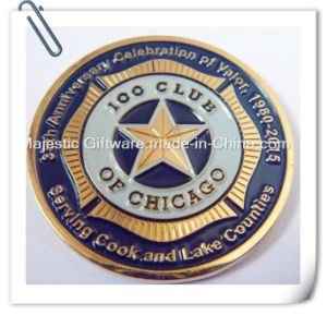 Zinc Die Cast Soft Enamel Challenge Coin pictures & photos