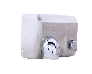 304 Stainless Steel Automatic Supermarket Hotel Manual 2300W Hand Dryer pictures & photos