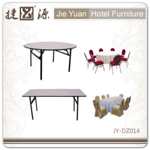 Export Hot Sale Strong Folding Round Restaurant Table (JY-DZ014) pictures & photos