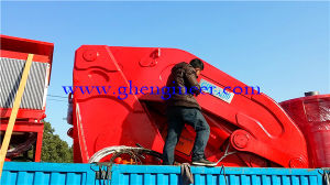 Knuckle Boom Crane with Separate Hydraulic Station pictures & photos