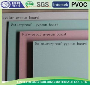 Factory Supply Gypsum Plasterboard pictures & photos
