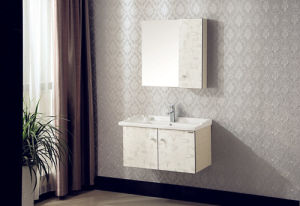 Household Multi-Layer Solid Wood Bathroom Cabinet