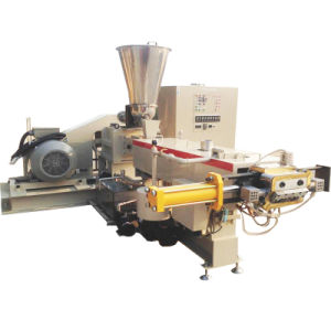 Plastic Masterbatch Compound Granulator Parallel Co-Rotating Twin Screw Extruder pictures & photos