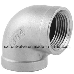 Investment Casting Stainless Steel Screwed 90 Degree Street Elbow pictures & photos