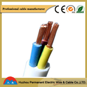 Flexible Copper Conductor Insulated PVC Electric Cable and Wire pictures & photos