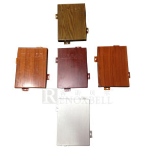 Wood Grain Aluminum Panel Manufacture for Facade pictures & photos