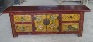 Chinese Antique Painted TV Cabinet pictures & photos