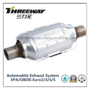 Car Exhaust System Three-Way Catalytic Converter #Twcat002 pictures & photos