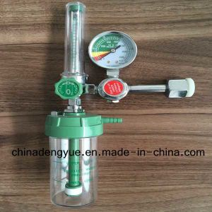 High Quality Medical Oxygen Regulator with Humidifier for Cylinder pictures & photos