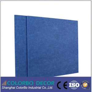 Cinema Interior Soundproof Polyester Fiber Acoustic Board pictures & photos