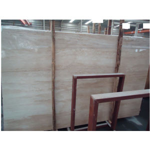 China Stone Cheap Beige Travertine Marble Floor pictures & photos
