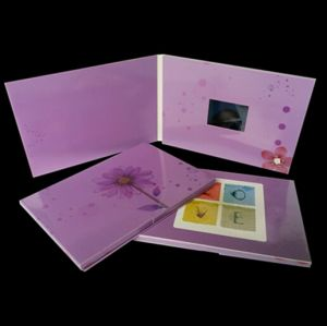 Advertising Video Greeting Card pictures & photos