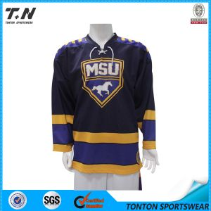 Cheap Ice Hockey Jersey Free Designed pictures & photos