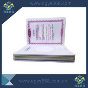 Embossing Printing Booklet for Government pictures & photos