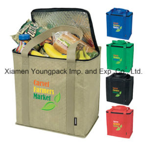 Personalized Zippered Thermal Insulated Grocery Tote Bag pictures & photos